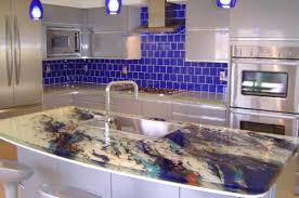 unique kitchen island personalized glass kitchen island marti style amazing