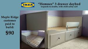 Hemnes Daybed Ikea Cool Ikea Hemnes Daybed With Trundle 60 On Elegant Design With