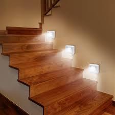 led treppe easy maxx led sensorlicht 3er set 06354 maxx world de