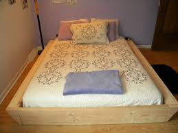 Simple Platform Bed Frame Plans by Furniture 20 Interesting Pictures Do It Yourself Queen Bed Frame