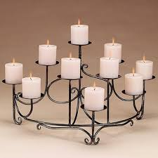 decorating unique fireplace candelabra for home decoration ideas