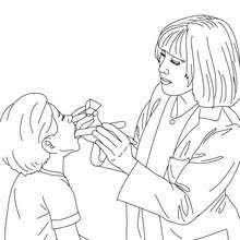 kid doctor coloring pages hellokids