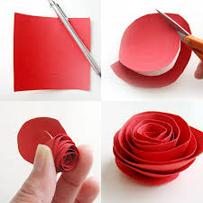 diy paper flower projects recycled things