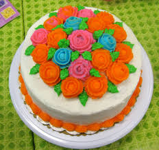 Wilton Cake Decorating Ideas Sweet For Sirten Wilton Class 4 Final Cake