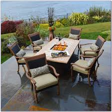 Patio Furniture Sets With Fire Pit by Patio Sets With Fire Pit Table Uk Patios Home Decorating Ideas