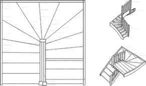 halbgewendelte treppe konstruieren 1 2 gewendelte treppen günstig aus polen nergo treppen