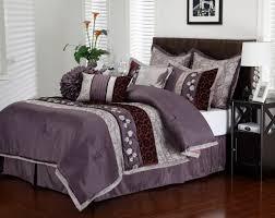 bedding sets queen purple decors ideas