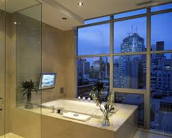 bathroom tv ideas the for a tv in the bathroom leviton home solutions