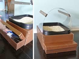 new two part cat litter box design u2022 hauspanther