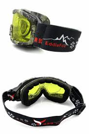 super anti fog goggles night vision fitted with glasses radiation