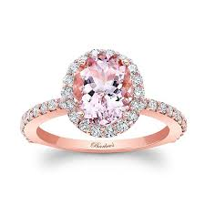 morganite gold engagement ring barkev s 2 00ct oval morganite gold engagement ring moc 8027lp
