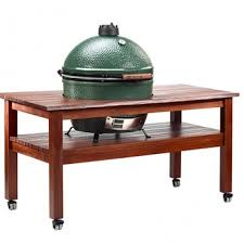 tables u0026 custom islands big green egg