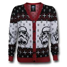 sweater wars wars stormtrooper sweater cardigan