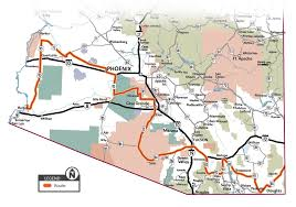 Ajo Arizona Map by 520 Ton Oversize Load Slowly Makes Its Way Through State