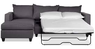sectional with sofa sleeper halley 2 piece full sofa bed sectional with left facing chaise