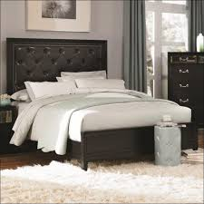 bedroom wonderful leather upholstered headboard queen fabric