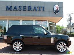 land rover range rover 2008 2008 land rover range rover v8 supercharged in java black