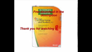 microsoft office home and student 2007 free download and