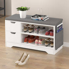 Bench Shoe Storage Shoe Storage Bench Ebay