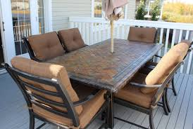 furniture patio furniture sets with umbrella riveting best deck
