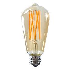 edison light bulb l 8w led filament bulb sunmeg vintage edison light bulb st64 8w bulb