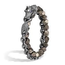 dragon wrap bracelet images John hardy naga darkened silver and pyrite double wrap bracelet jpg
