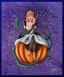 art cinderella in halloween by fernl deviantart whimsical