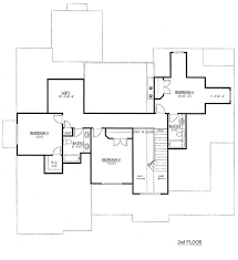 traditional style house plan 5 beds 4 50 baths 3187 sq ft plan