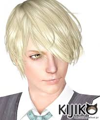 hair color to download for sims 3 verte hair for males by kijiko sims 3 downloads cc caboodle