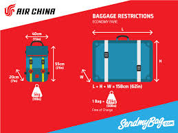 united baggage requirements 2017 air china baggage allowance for carry on checked baggage