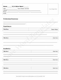 job application cv format resume example 51 blank cv templates word document cv template