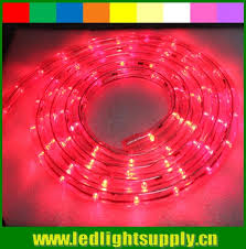 Christmas Rope Lights Red by Round 2 Wire Red Color Led Rope Lights For Decoration