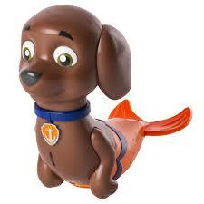 spin master paw patrol paw patrol bath paddlin pup zuma merpup