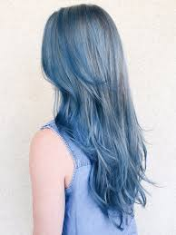 denim blue why the new denim hair color trend could work for you instyle