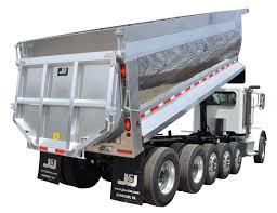 Used Dump Truck Beds J U0026j Truck Bodies And Trailers Dynahauler Half Round Dump