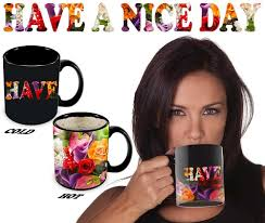 Nice Coffee Mugs Magic Coffee Mugs Heat Sensitive Color Changing Coffee Mug Good