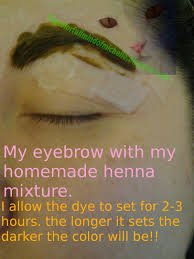 Henna Eye Makeup Mind Of Michelle How To Dye Eyebrows Using Henna