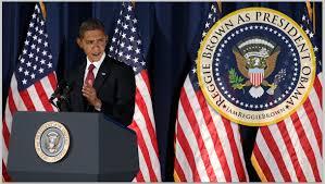 Barack Obama Flag Reggie Brown The World U0027s 1 Barack Obama Impersonator