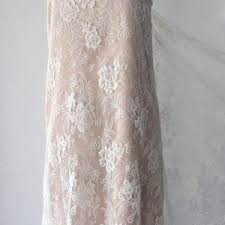 off white lace fabric french lace floral lace roses solstiss
