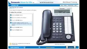 panasonic kx t7735 manual basic set up of your panasonic kx nt343 kx dt343 voip or digital