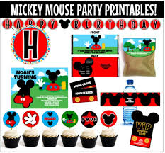 mickey mouse birthday party ideas top 10 mickey mouse birthday party ideas for