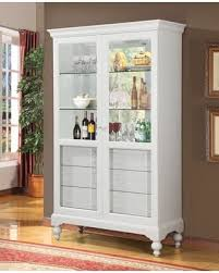 Wall Curio Cabinet With Glass Doors Sale Dallin Collection 90107 47 Curio Cabinet With 2