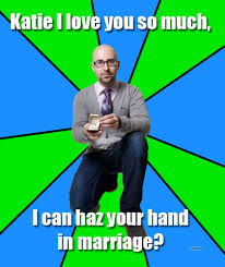 Yes Meme Picture - say yes katie proposal meme len kendall asks internet for help