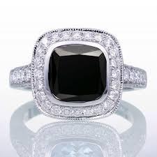 black diamond engagement rings for women black diamond rings jewelocean