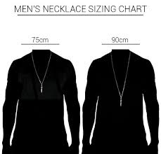 necklace length men images 18k gold plated phurba men 39 s necklace jpg