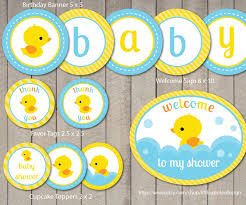 rubber ducky baby shower clipart 66
