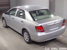2011 toyota corolla axio silver for sale stock no 50809
