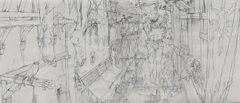 the beautiful sketches behind the witcher 3 u0027s ending kotaku uk