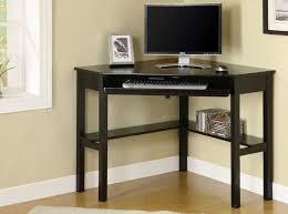 black corner computer desk home office black corner desk with cubby rum thedigitalhandshake