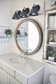 diy farmhouse bathroom vanity light fixture vanity light